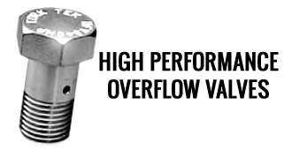 HP Over Flow Valves